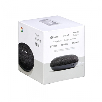 GOOGLE HOME MINI CON ALTOPARLANTE COLORE CARBONE
