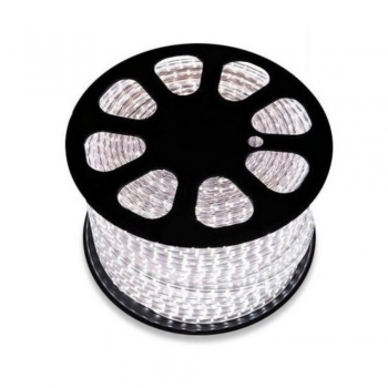 BOBINA 50MT/100MT STRISCIA LED 2835 DOPPIO LED 220V O MONOCOLORE SEMI-FLESSIBILE IP65