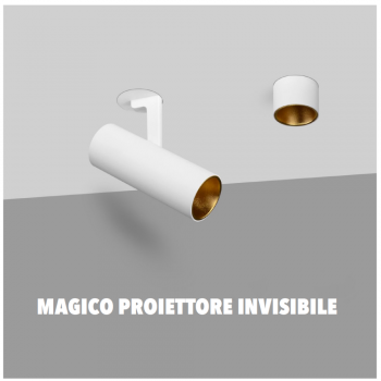 MAGICO PROIETTORE INVISIBILE IN GESSO A INCASSO MADE IN ITALY DRIVER PHILIPS