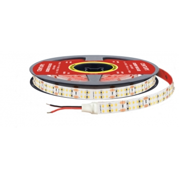 STRIP LED STRISCIA DOUBLE ROW DA 5MT 24V 150 WATT ADESIVA VARI COLORI ACCENTO PRO